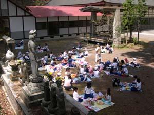 小川小学校春の遠足